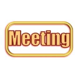 Club meetings