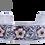 Thumbnail: Flower Cuff Bracelet Rose Gold Flower
