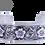 Thumbnail: Sterling Silver Flower Cuff Bracelet