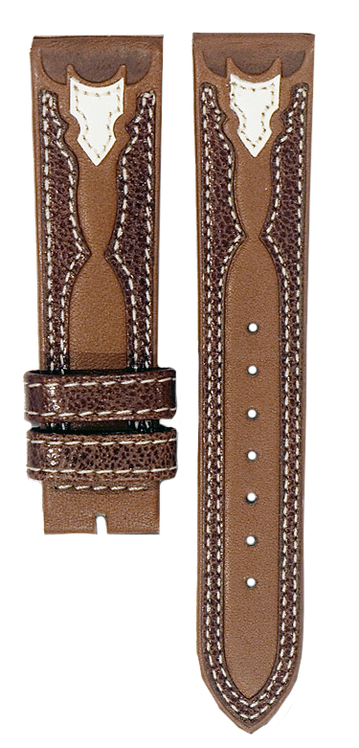 Tan Brown Beige Leather Band