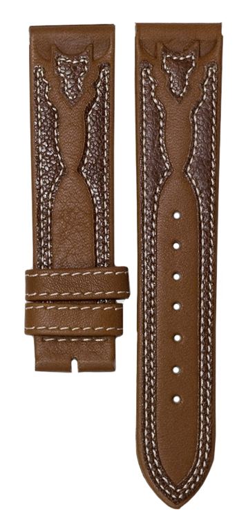 Tan Brown Leather Band