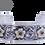 Thumbnail: Green Gold Flower Cuff Bracelet