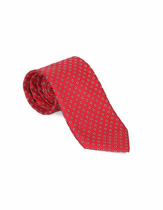 Corbata Roja de Puntos