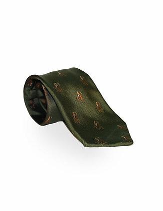 Corbata Verde Caballos