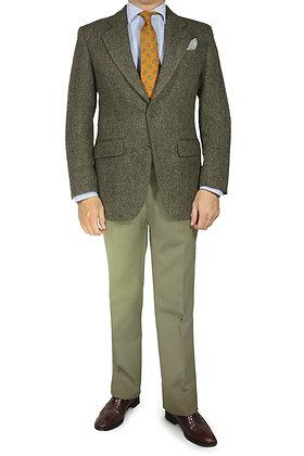 Americana Harris Tweed Espiga Verde