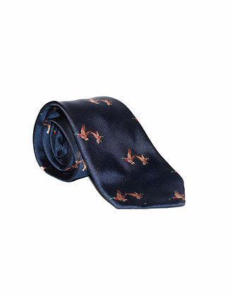 Corbata Azul patos