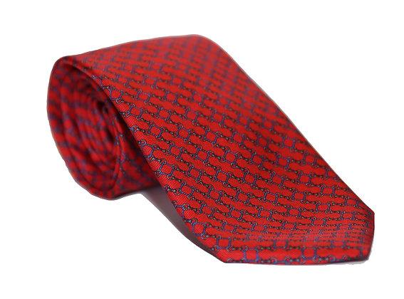 Corbata roja eslabón