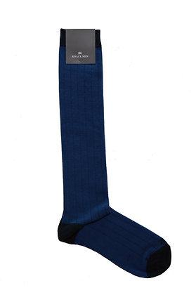 Azul medio puntera gris marengo