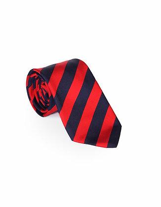 Corbata Azul y Roja