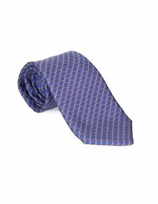 Corbata Azul Nudos