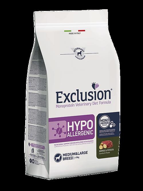 Exclusion HYPOALLERGENIC HORSE&POTATO