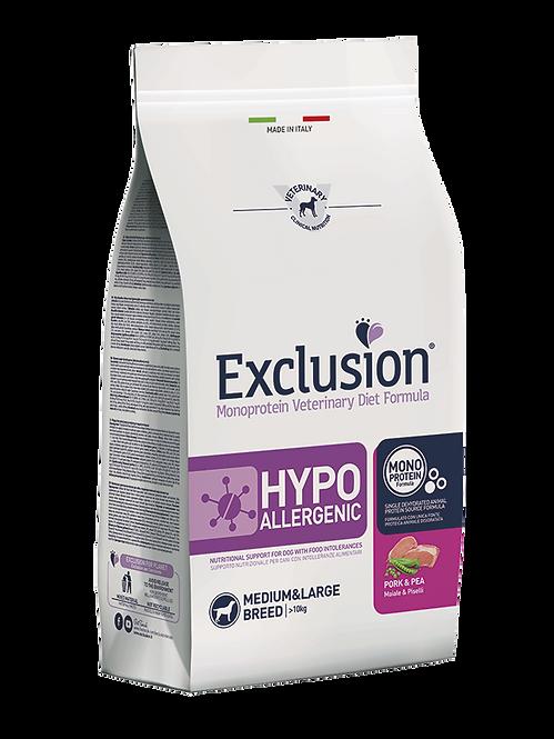 Exclusion HYPOALLERGENIC PORK&PEA