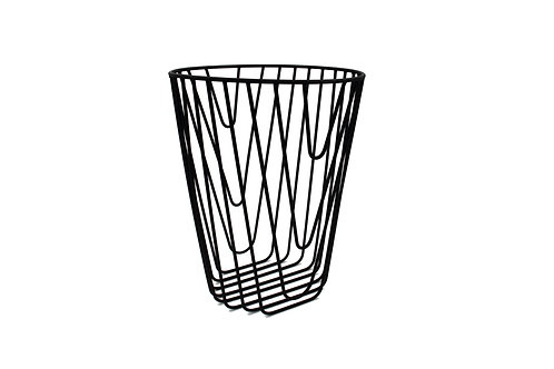 Noir Paper basket black
