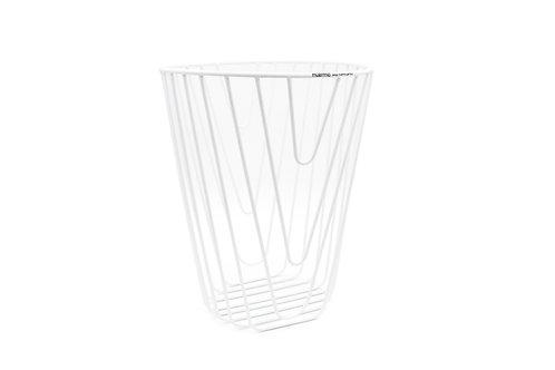 Noir Paper basket white