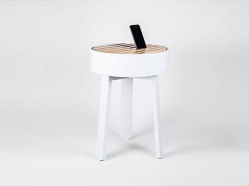 TRELLIS side table white
