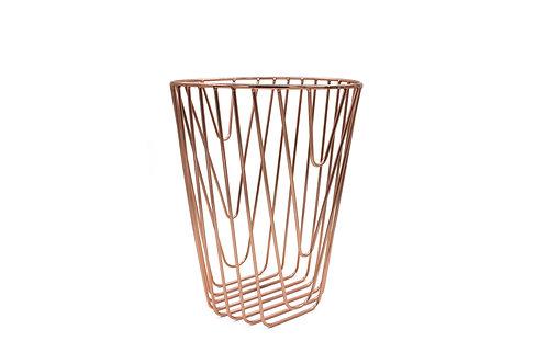 Noir Paper basket copper