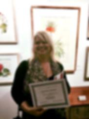 Honourable Mention for Dianne Sutherland, ASBA International, New York