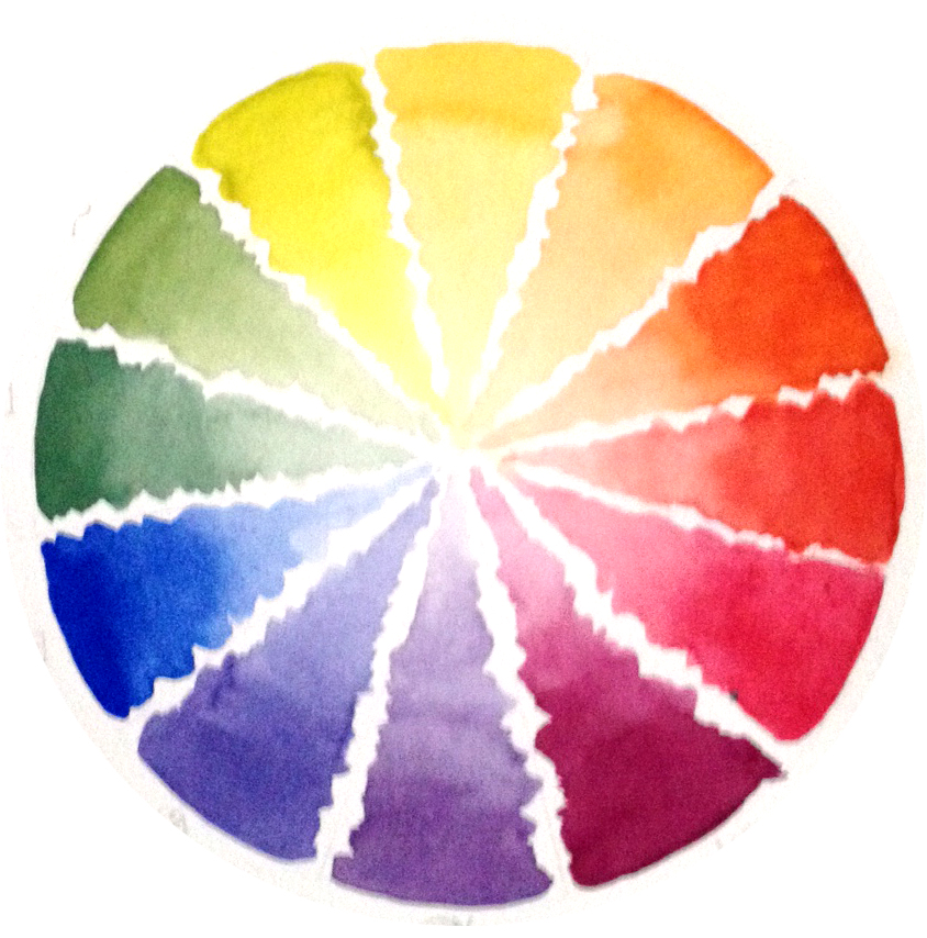 colour wheel principles