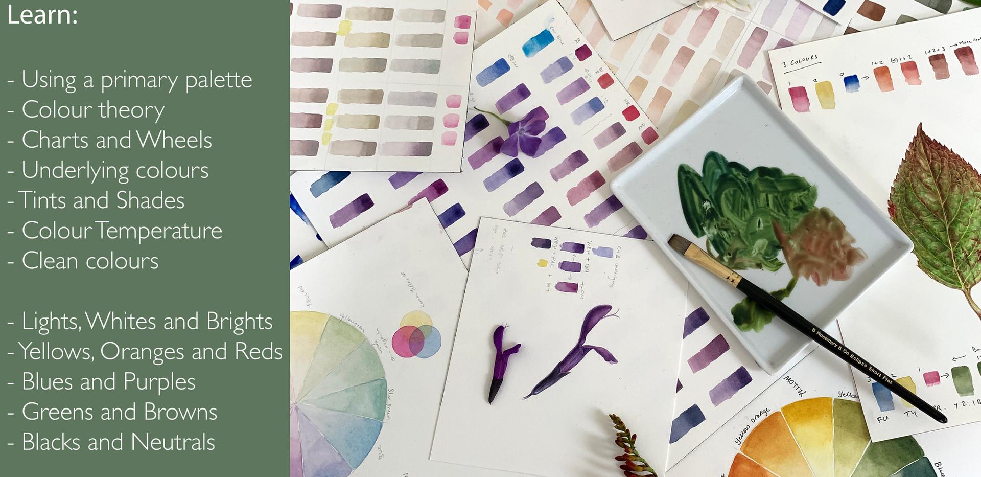colour mixing tutorial