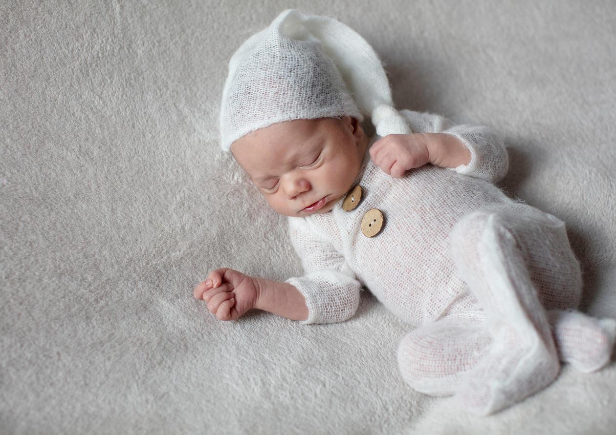 Süßes Neugeborenes