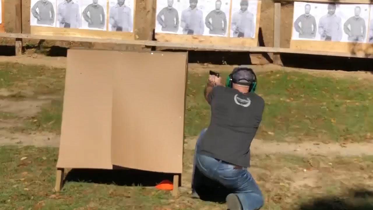 Patrick Kilchermann firing