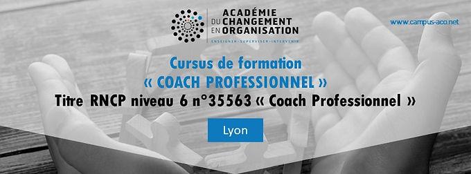 Cursus CP : Coach Professionnel