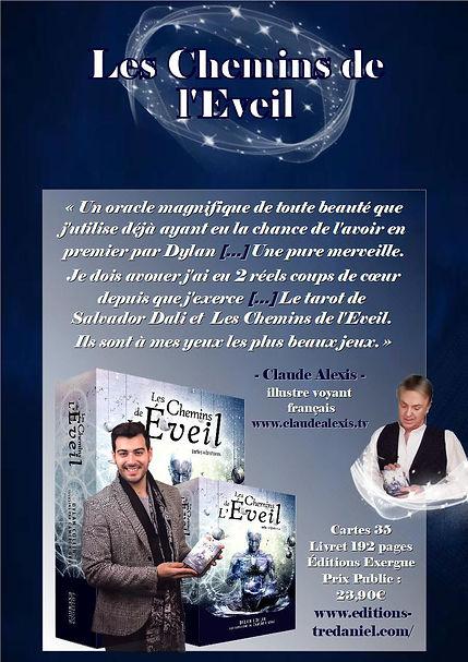 Claude Alexis fait la promotion du coffret Les Chemins de l'Eveil aux éditions Guy Tredaniel