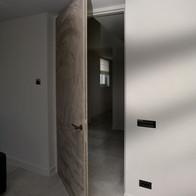 Specials deuren bekleedt met leder