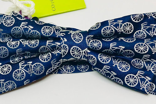 Bow-Tie DD5 'Bicycles on Blue'