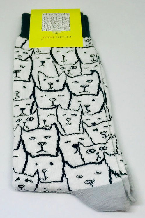 Coton Doux Socks 'Dogs n Cats'