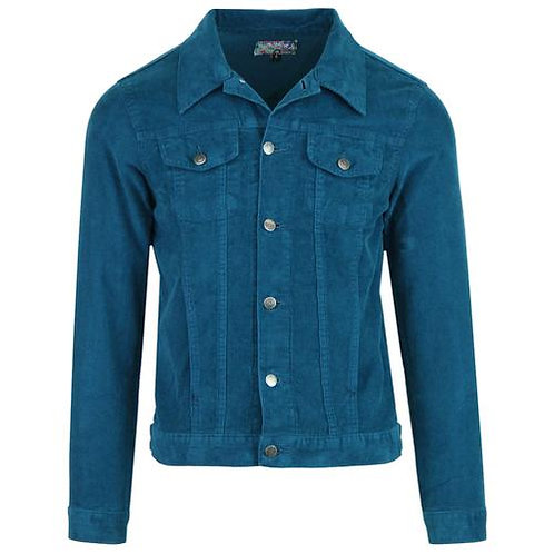 Madcap Cord Jacket Ink Blue