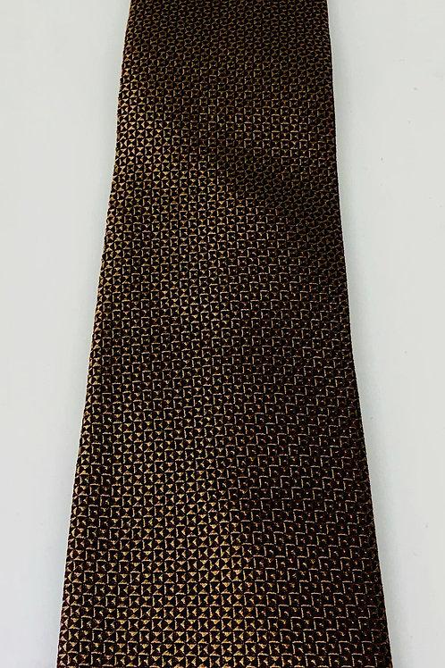 Coton Doux Mens Tie 'Copper Shimmer'