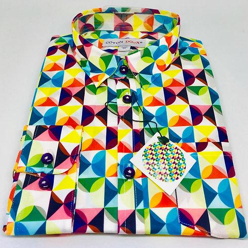Coton Doux Kids Shirt 'Convex'