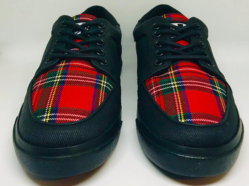 Tuk A9300 Creeper Sneaker Tartan Lace up