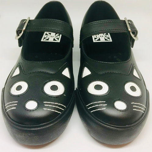 Tuk Kitty Mary Jane Sneaker Black