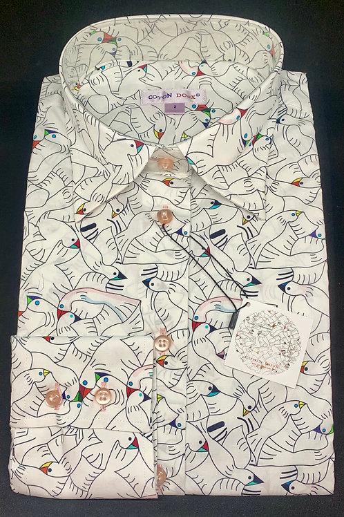 Coton Doux Womens 'MC Escher'