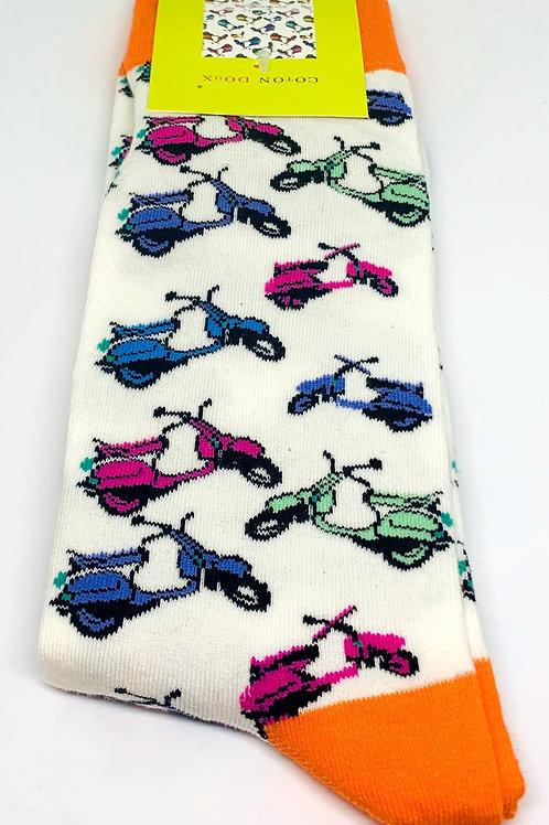Coton Doux Socks 'Vespa'