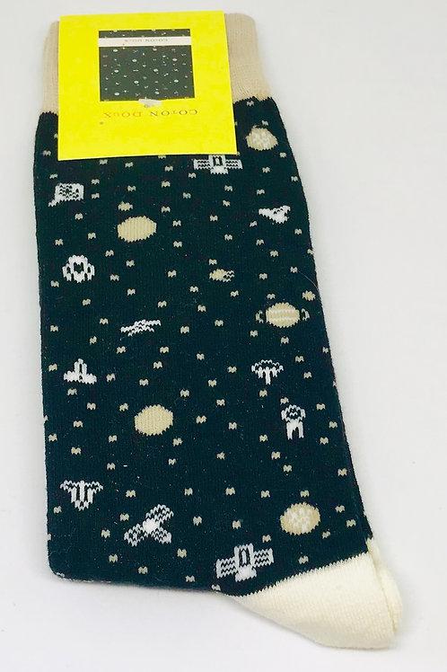 Coton Doux Socks 'Outer Space'