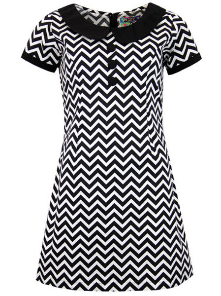 Madcap Dollirocker Zig Zag Dress