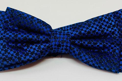 Coton Doux Bowtie 'Checkerboard Blue'