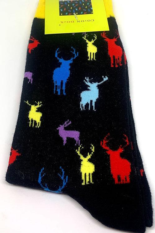 Coton Doux Socks 'Reindeer'