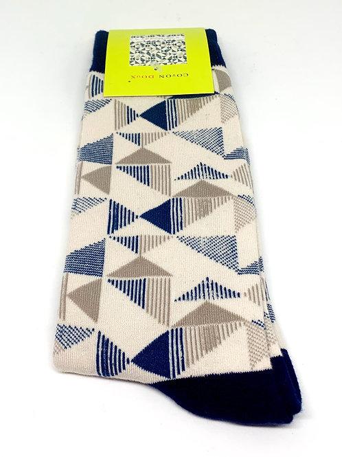 Coton Doux Socks 'Angles'