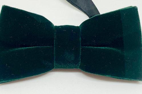 OTAA Bow Tie Velvet Green
