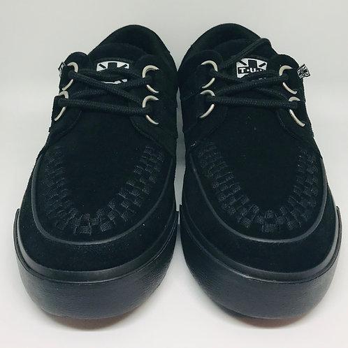 Tuk A9178 Creeper Sneaker VLK Suede Blk