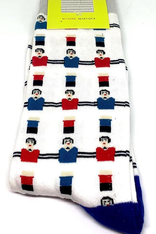 Coton Doux Socks 'Foosball'