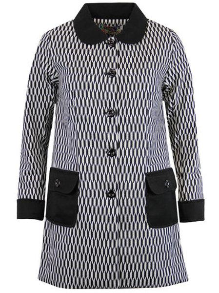 Madcap 60s A-line Jacket 'Harlequin Karina'