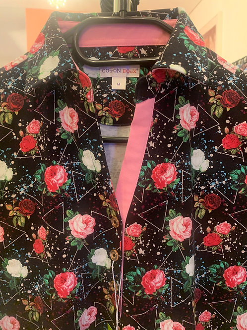 Coton Doux Polo Womens 'Roses and Triangles'