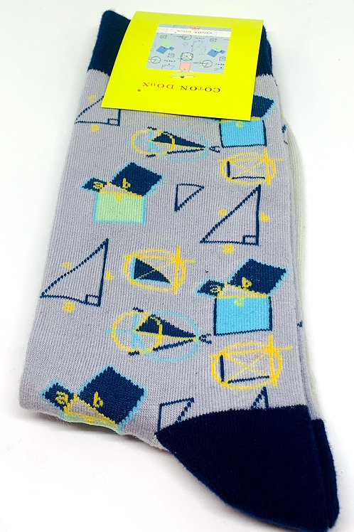 Coton Doux Socks 'Geometry'