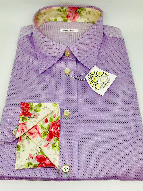 Coton Doux Womens 'Lilac w Surprise Roses'