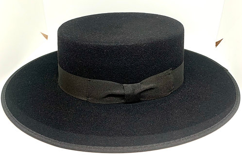 Daquino Hats Riding Black w/Black